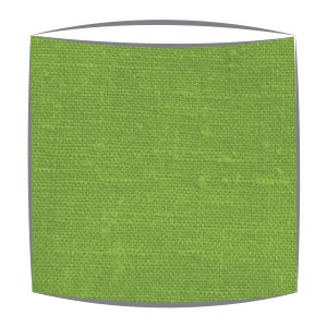 Linen Lampshade in Apple Green