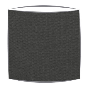 Linen Lampshade in Black
