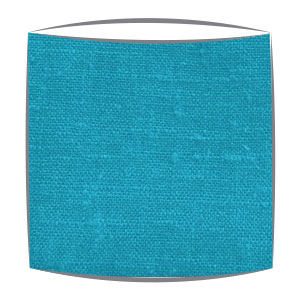 Linen Lampshade in Electric Blue
