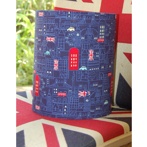 London at night lampshade