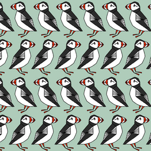 Puffin-Fabric large