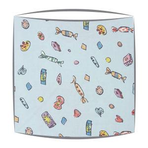 Roald Dahl Lickswishy sweets fabric Lampshade