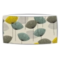 Extra Large oversized lampshade in Sandersons Dandelion Clocks fabric in chaffinch
