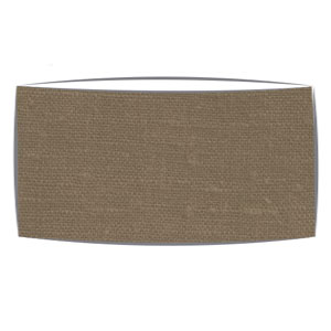 Large Oversized Drum Lampshade in Coffee Linen
