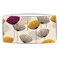 Extra Large oversized lampshade in Sandersons Dandelion Clocks fabric in mauve/gold