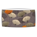 Extra Large oversized lampshade in Sandersons Dandelion Clocks fabric in slate