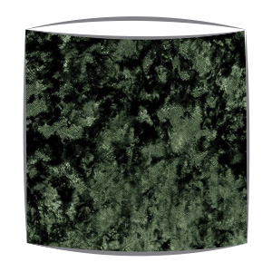 Crushed Velvet Lampshade in Olive